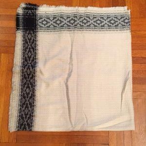 Zara Tribal Inspired Oversized Scarf *NWOT*